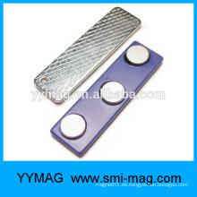 Sujetador magnético personalizado de la insignia de la ropa magnética