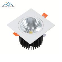 A espiga de poupança de energia magro redonda de alta qualidade 5w 7w 9w 12w 15w 18w 24w conduziu o downlight