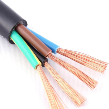 Light Flexible Rubber Insulated Sheathed Electrical Cable