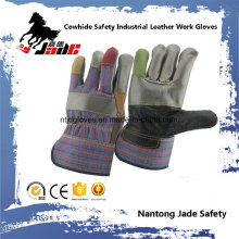 Guantes de trabajo de cuero industrial