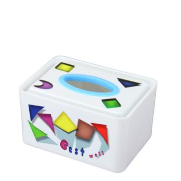 Caixa de tecido de plástico impresso de moda (FF-5073-2-2)