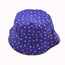 Fashion Lady Bucket Caps with Different Flower Fabric Customized (HKA06-A00003)