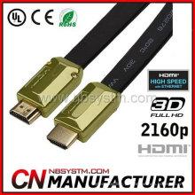 Suporte 3D, 4K x 2K video HDMI Cable v1.4