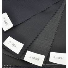 Upscale comfortable herring bone worsted 70%wool 30%polyester suit uniform fabric in different colors