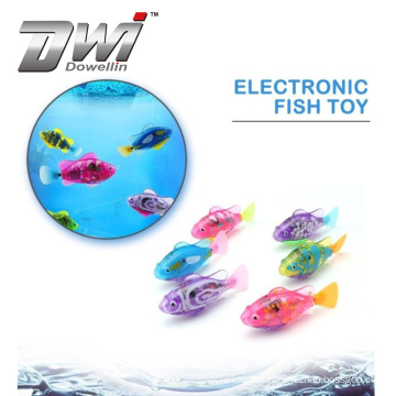 DWI Dowellin Swimming Remote Control Flying Electronic Pet Fish For Kids
