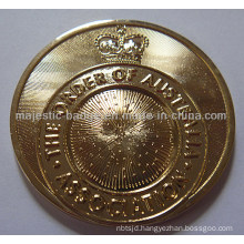 Customized Bright Gold Plating Medallion