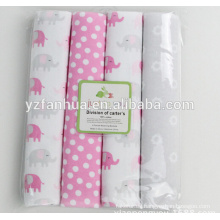 2015 fábrica venta algodón franela infantil Baby mantas de bebés
