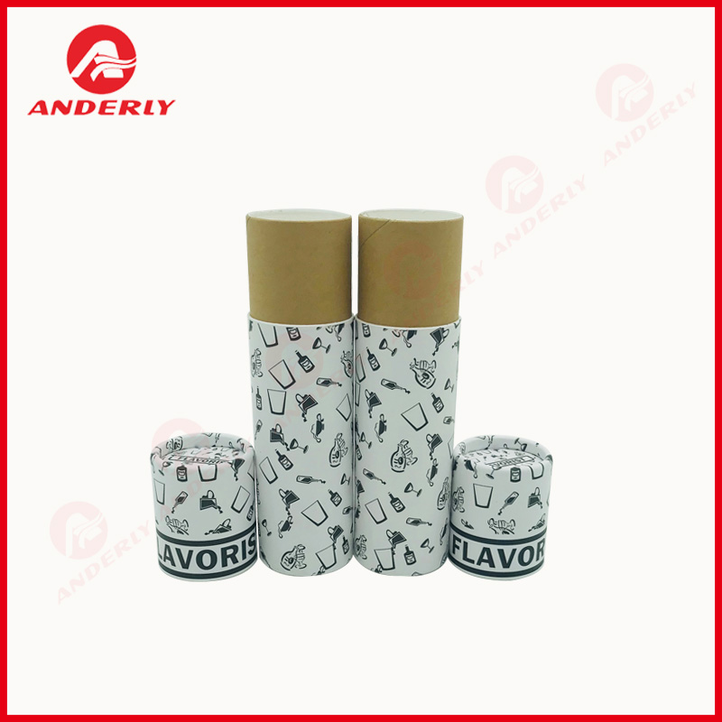 Customized Small Paper Tube for Essential Oil Packaging