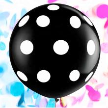 El globo azul rosado revela las fuentes del partido