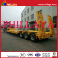 3 Axles Heavy Duty Equipment Transport Low Bed Trailer