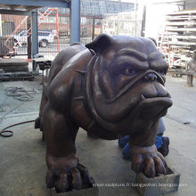 Statue de bulldog de conception populaire avec grand prix