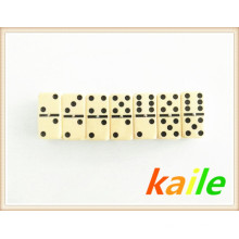 Double 6 Ivory Domino Packed In Paper Box