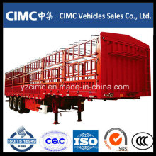 Cimc 3 Ejes Stake Fence Cargo Remolque