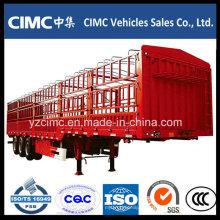 Cimc 3 Ejes Stake Fence Cargo Remolque
