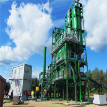Batch Type Hot Asphalt Mix Plant Model