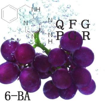 Promotores del crecimiento vegetal 6-Benzylaminopurine (6-BA)