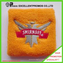 Broderies en coton en gros Terry Sports Sweatbands (EP-W9018)