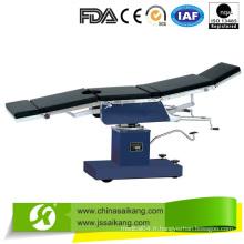 Table d'opération avec multifonction intégrée
