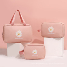 Customized Professional Travel Cosmetic Bag Large Capacity Toiletry Bag Makeup Tool Storage Bag Women Cosmetic Bag