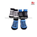 TCB-064 Custom Baby Shoes Socks for Wholesaler Shoelaces Baby Socks
