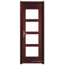 Puerta interior de madera (HDD-006)