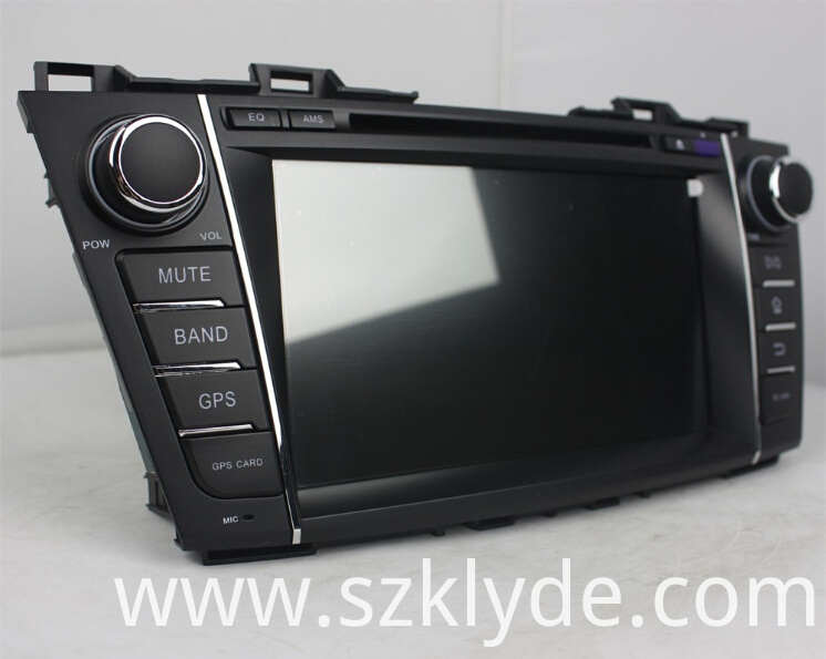 Mazada Premacy Android 8 inch car dvd player