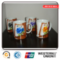 Straight Mug in Porcelain for Household
