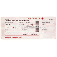 southwest airline boarding pass check and luggage tag