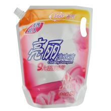 Custom gravure printing 2KG plastic washing liquid bag