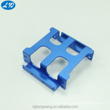 Metal stamping part with perforated aluminum sheet