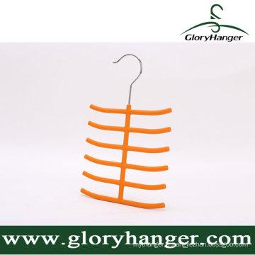 Support en plastique de serviette en gros, cintre de serviette, humide et sec à double usage