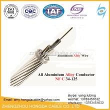 overhead line All Aluminium Alloy bare Conductor AAAC Flint 37/3.59mm