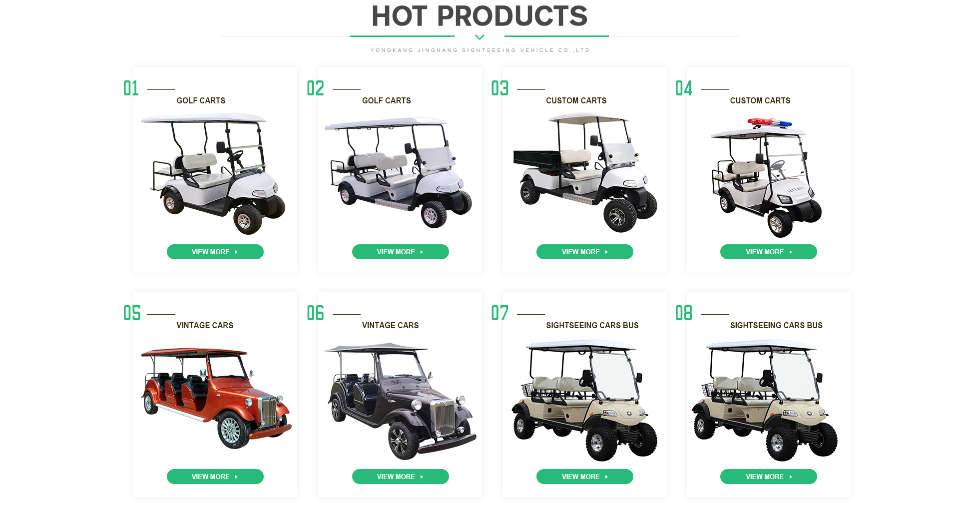 hot sale golf cart
