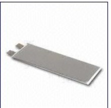 Li-polymer Cell Battery with 0.3mm Thickness, 3.7V Nominal Voltage, Customized Capacity Available