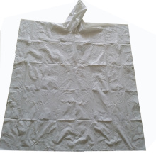 Poncho antipioggia monouso ecologico in materiale compostabile
