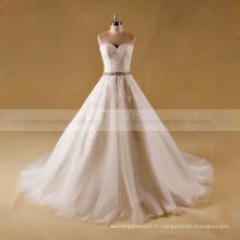 Robe de mariée en satin Shenzhen robe de mariée fabrication en Chine