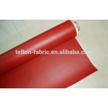 Tissu en fibre de verre revêtu de caoutchouc de silicone, revêtement en fibre de verre avec revêtement en silicone, fournisseur de Chine