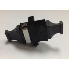 MPO Schwarz Farbe Schwarz Cap Fiber Optic Adapter