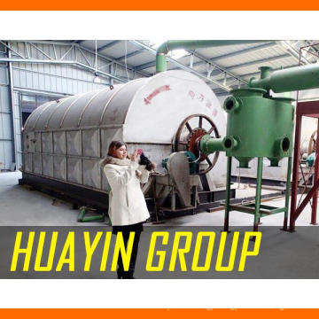 Waste recycling waste tyre oil plant in india