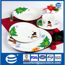 Heiße neue Produkte für 2015 Weihnachtsgeschenk Set Porzellan Abendessen gesetzt