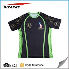 custom made fully sublimation slim fit dry fit t shirts