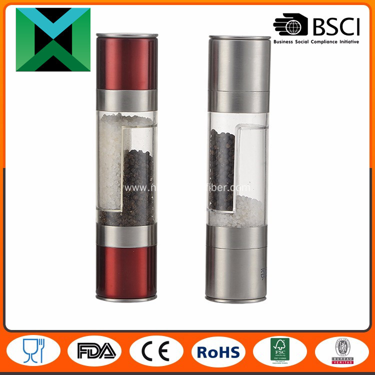 Popular Stainless steel Salt and Pepper Mills