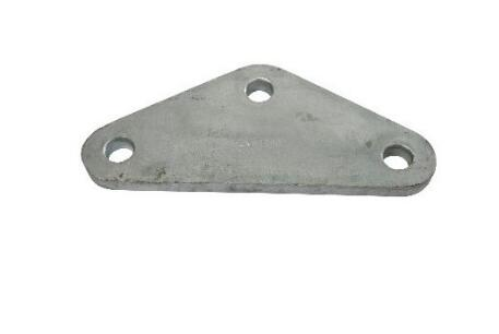 Overhead Power Fitting Hot-dip Galvanized LV Yoke Plate