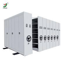 Prateleiras móveis de estantes compactas da biblioteca de aço do sistema compacto