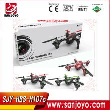 С h107c hubsan х4 радиоуправляемый квадрокоптер с 720p HD камера (зеленый/красный/Winered)