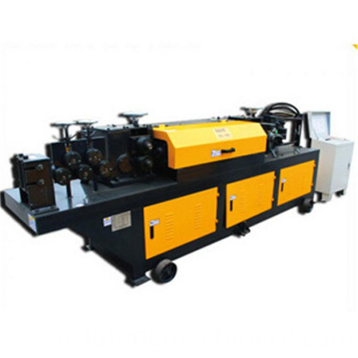 luteng Factory direct sales convenient efficient durable Mini wire rod straightening and cutting machine
