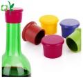 Pupular Anpassen Logo Silikon Weinglas Flaschenverschluss