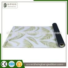 private label sublimation custom digital printed natural rubber fitness eco