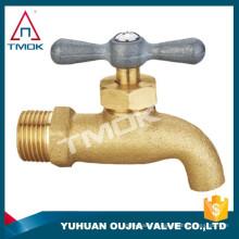 DN15 DN20 surface naturelle ou poli / nickelé robinets de salle de bains en or