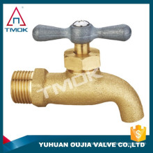 DN15 DN20 BSP abs water tap bibcock faucet hose end bibcock polished with key handle